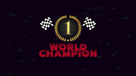 Motion-sport-flags-and-text-World-Champion