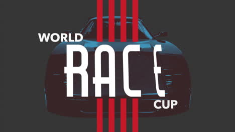 Motion-geometric-red-lines-with-sport-car-and-World-Race-Cup-text