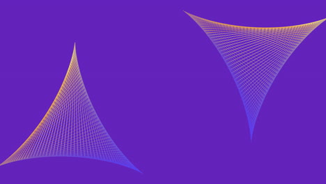 Animation-abstract-neon-gradient-triangles