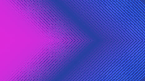 Animation-abstract-neon-purple-and-blue-lines