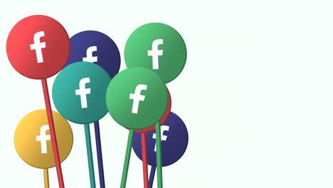 Iconos-De-Movimiento-De-La-Red-Social-Facebook-Sobre-Fondo-Simple-1