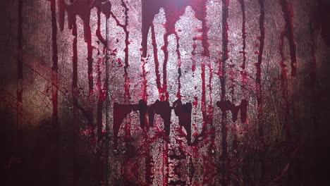 Animation-mystical-horror-background-with-dark-blood