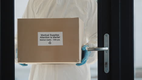 Delivery-Of-Personal-Protective-Equipment-To-Hospitals