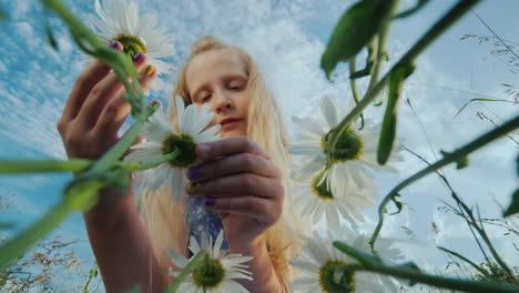 Child-admires-wildflowers-1