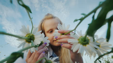Child-admires-wildflowers-2
