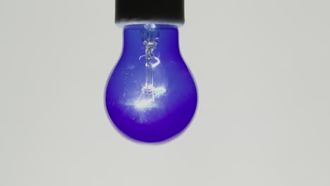 The-ultraviolet-light-lights-up-on-a-white-background
