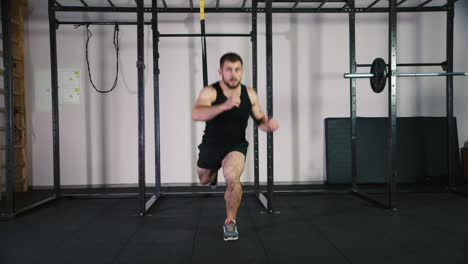 Athlete-does-exercises-in-the-gym