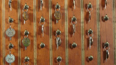 Businessman-checks-into-a-hotel-and-gets-the-keys-5