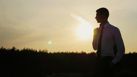 A-confident-businessman-looks-ahead-2