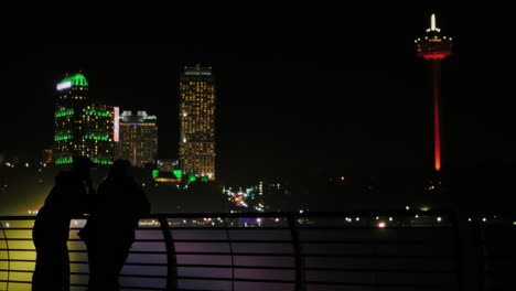 Man-And-Woman-Admiring-The-Night-City