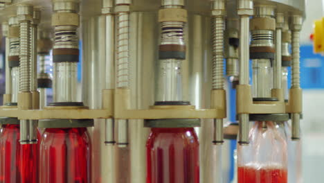 Bottles-Of-Red-Wine-Move-On-A-Conveyor-Belt-8