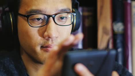 Portrait-Of-A-Korean-Man-In-Glasses