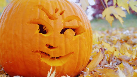 Close-Up-Face-Carved-Into-A-Pumpkin-2