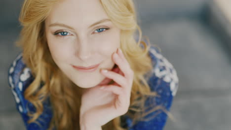 Blue-Eyes-Of-A-Young-Woman-Looking-Into-The-Camera-5