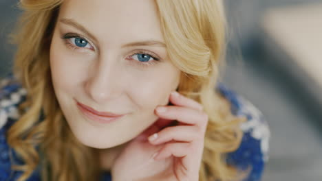 Blue-Eyes-Of-A-Young-Woman-Looking-Into-The-Camera-6
