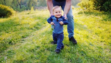 Funny-Little-Boy-Learns-To-Walk