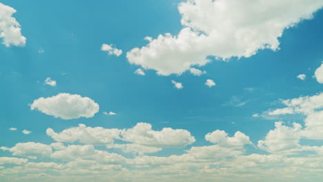 Blue-Sky-With-White-Clouds-And-Sun-Rays