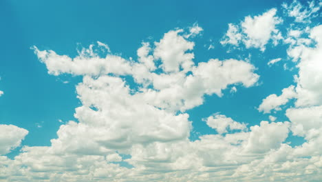 Blue-Sky-With-White-Clouds-On-A-Clear-Sunny-Day