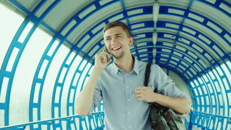 Successful-Young-Businessman-Talking-On-The-Phone